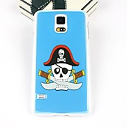 With A Knife The Skull Pattern PC Back Case for Samsung S5/I9600