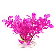 10cm Rose Simulation Plants for Fish Tank Decoration