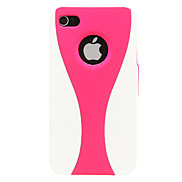 Wineglass Pattern Plastic Case for iPhone 4/4S(Assorted Color)