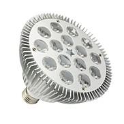 15W E26/E27 LED Par Lights PAR38 15 High Power LED 1430-1480 lm Cool White Dimmable AC 100-240 V