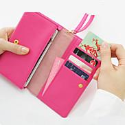 Multifunctional Zip Wallet(Assorted Color)
