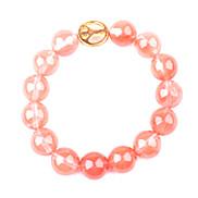 Pink Gem Strand Bracelets