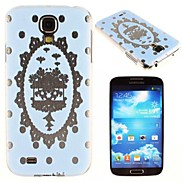 Crown Lace Pattern PC Hard Case for Samsung S4 I9500