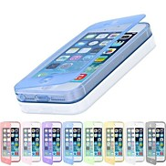 Touch Screen TPU Transparent Full Body Case for iPhone 4/4S(Assorted Color)