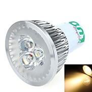 LOU GX5.3 3 W 3 SMD 270~300 LM Warm White Spot Lights DC 12 V