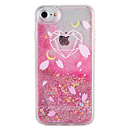 Case  for Apple iPhone 7 7 Plus Heart Geometric Pattern Glitter Shine  Flowing  Liquid Pattern Hard  PC  6s Plus 6 plus 6s 6