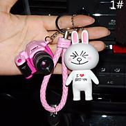 Bag / Phone / Keychain Charm Cute Camera Cartoon Toy Phone Strap PVC
