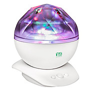 YWXLIGHT® Rotation Sleep Soothing Color Changing Aurora Night Light Projector with Build-in Speaker Relaxing Light Show Mood Light for Baby Nursery