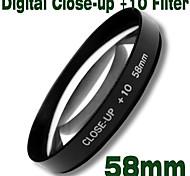 emolux 58mm close up (+10) filtro (smq5587)