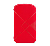 Trendy Velvet Bag for iPhone 2G/3G/3GS (Red)