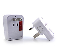 1 x World Travel Adapter with USB Charging Port / Surge Protection