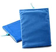 caja de la bolsa de tela suave protector para el ipad 1/2/3/4 y otros (azul)