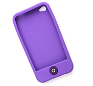 étui de protection en silicone pour iPhone 4 (violet)