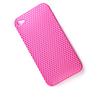 Protective Mesh Case for iPhone 4 (Pink)
