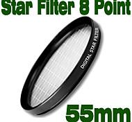 emolux 55mm étoiles 8 points filtre