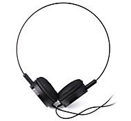 Headphone 3.5mm Over Ear Lightweight Audio for PC/Phones(Black)