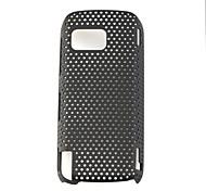сетка жесткий обложка чехол для Nokia 5800 черный