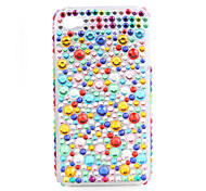 Custodia in PVC con strass per iPhone