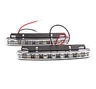 2 pcs levou modelos de carros durante o dia / h utilização de luzes jk158