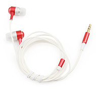 1.2m High-quality Stereo Earphone (Red)