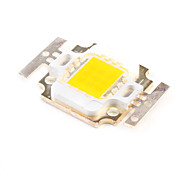 10w diy 750-850lm 3000-3500K luce bianca calda piazza emettitore led (3 serie 3 in parallelo, 30-33V)