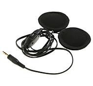 haut-parleurs de moto bike casque pour contrôler le volume mp3