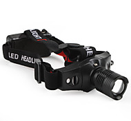 LED Flashlights/Torch / Headlamps LED 5 Mode 210 Lumens Tactical / Compact Size / Small Size Cree XR-E Q5 10440 / AAA Others , Black