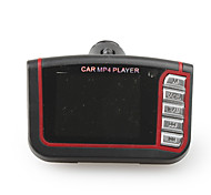 "FM Car 1.8"" LCD Car MP4 Player With FM Modulator & Remote Control, Black"