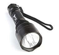 UltraFire 1-Modo linterna LED (400lm, 1x18650)