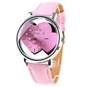 Frauen Analog Quarz Armbanduhren (pink)