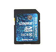 Kingston 16Go 100X / Classe 10 SD/SDHC/SDXCMax Read Speed10MB/sec (MB/S)Max Write Speed10MB/sec (MB/S)