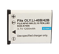 1200mAh Camera Battery D-LI63(42B) for Nikon,Olympus,KODAK,PENTAX and FUJIFILM