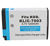 1200mAh 3.7V Digital Camera Battery KLIC-7003 for KODAK V1003,V803