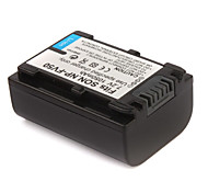 1050mAh Camera Battery NP-FV50 for SONY HDR-UX5E,HDR-HC7E and More