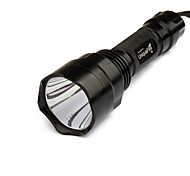 LED Flashlights / Handheld Flashlights LED 1 / 3 / 5 Mode 1000/200 Lumens Rechargeable / Tactical / Self-DefenseCree XR-E Q5 / Cree XP-E