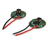 3.6V ~ 9V 800mA regulados ic circuito para Cree y leds SSC (4-pack)