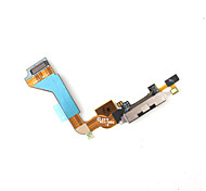 Dock Connector Charger Flex Cable for iPhone 4G - Black