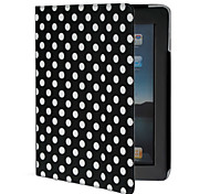 dot pu pelle per iPad 2/3/4 (nero)