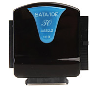 All-in-one SATA / IDE zu USB 2.0 Konverter (schwarz / blau)