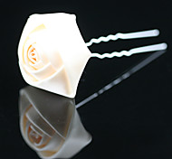 Women's Flower Girl's Satin Headpiece-Wedding Special Occasion Office & Career Outdoor Hair Pin