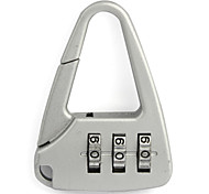 Travel Luggage Lock / Inflated Mat Luggage Accessory Coded lock Metal