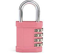Travel Combination Padlock (Pink)