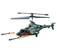 U810A Fire Missile Infrared Remote Control Helicopter for iPhone / iPod / iPad / Android