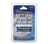 900mAh 1.2V Ni-MH Rechargeable Battery (2 x AAA)