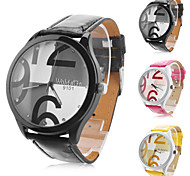 Men's and Women's Casual PU Analog Quartz Wrist Watch (Assorted Colors) Cool Watches Unique Watches