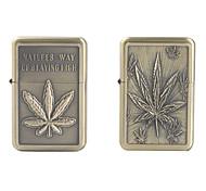 Maple Leaf Pattern Oil Lighter (Assorted Patterns)