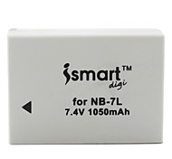 Ismart Digital Camera Battery for Canon NB-7L