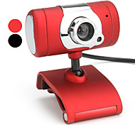 10 mégapixels usb t-section 2.0 webcam avec microphone (couleurs assorties)