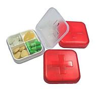 Vier-Zellen-Medizin-Box