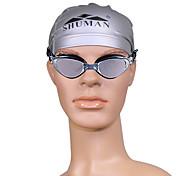 unisexes sm106 anti-brouillard lunettes de natation de placage